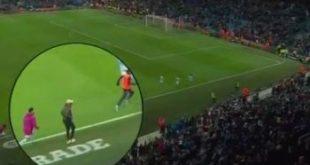 «Манчестер Сити»нинг «ақлдан озган футболчиси» чўлоқланган ҳолда чопмоқда