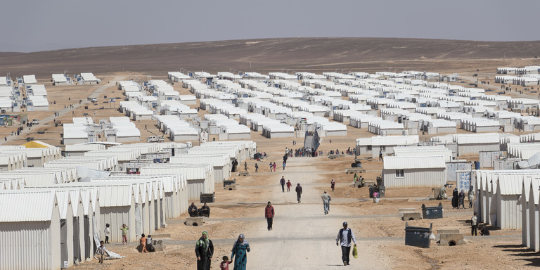 Azraq Refugee camp, Jordan: March, 2015, . Photo: NRC / Christopher Herwig