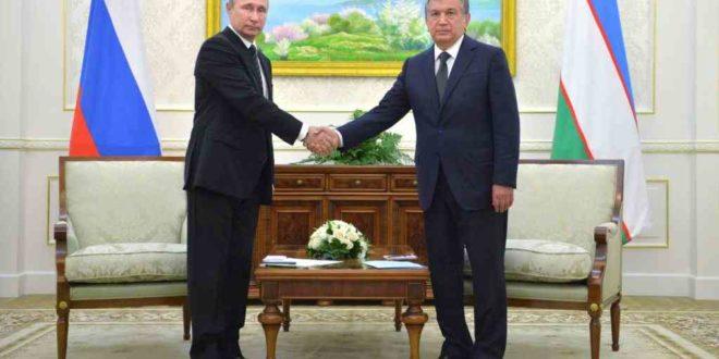 Putin tashrifi: Uzbekistonda Rossiya oliygohlari filiallari tashkil etiladi