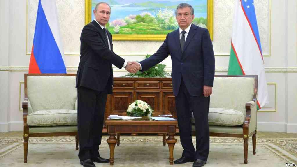 18 октябрь оқшомида В.Путин бошчилигидаги қарийб 1000 кишилик рус делегациясининг Тошкентга келиши кутилмоқда.