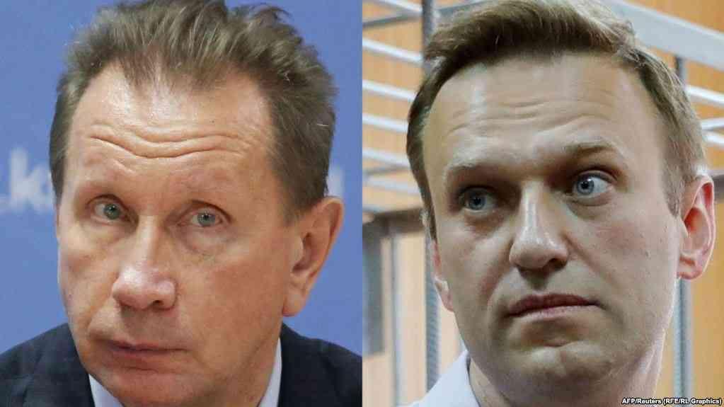 Виктор Золотов (чапда) ва Алексей Навальний