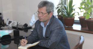Хоразмлик журналист Давлат Назар.