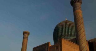 UZBEKISTAN -- A view of the Registan in Samarkand, south-eastern Uzbekistan, October 4, 2018