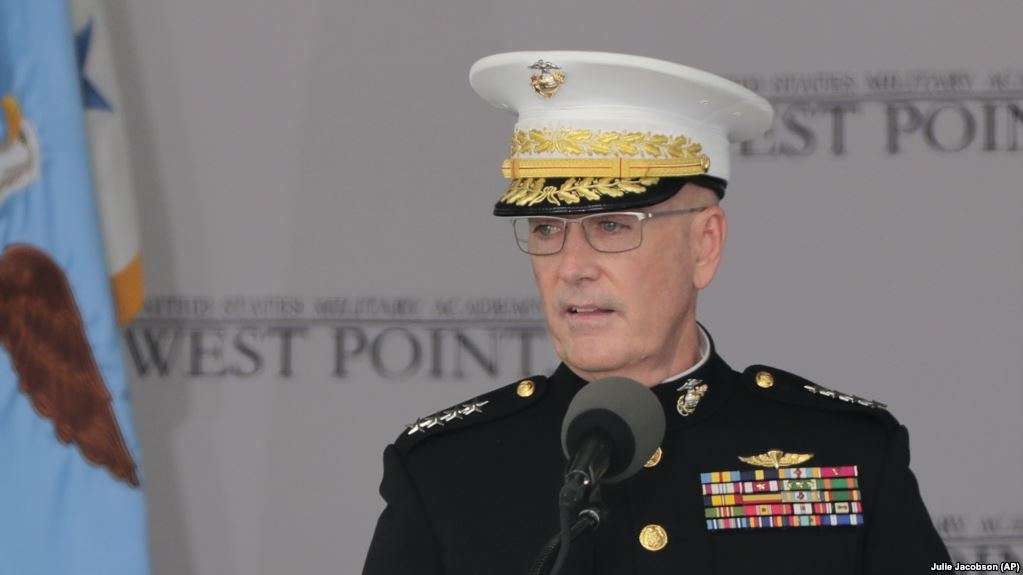 АКШ генерали, Штаб бошликлари бирлашган кумитаси раиси Жозеф Данфорд