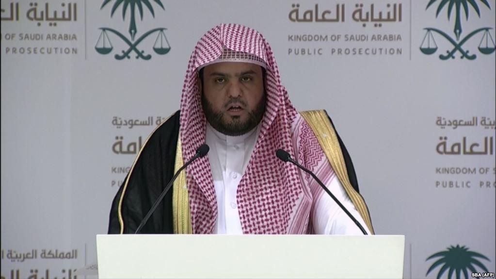 Саудия прокурори Хашогги иши буйича баëнот берди.