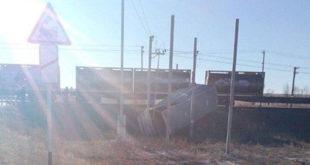 Пять узбекистанцев погибли в результате столкновения поезда и автобуса в Саратовской области