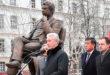 Moskvada Chingiz Aytmatov haykali ochildi