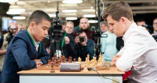 Ўзбекистонлик 16 ёшли шахматчи амалдаги жаҳон чемпионини мағлуб этди