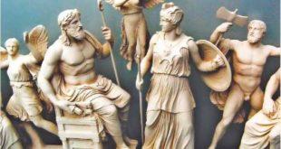 Статуи Древнего Парфенона