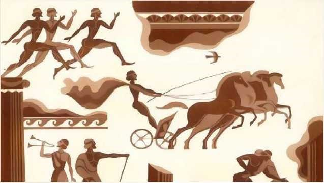 Первые олимпийские игры в Древней Греции