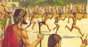 Соревнование легкоатлетов