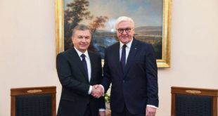 Стала известна программа визита президента ФРГ в Узбекистан: он встретится с Мирзиёевым и посетит Хорезм