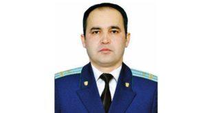 Очередной заместитель генпрокурора стал прокурором Наманганской области