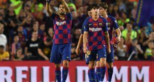 """Гампер кубоги. """"Барселона"""" сўнгги дақиқаларда гол уриб, """"Арсенал""""ни мағлубиятга учратди"""