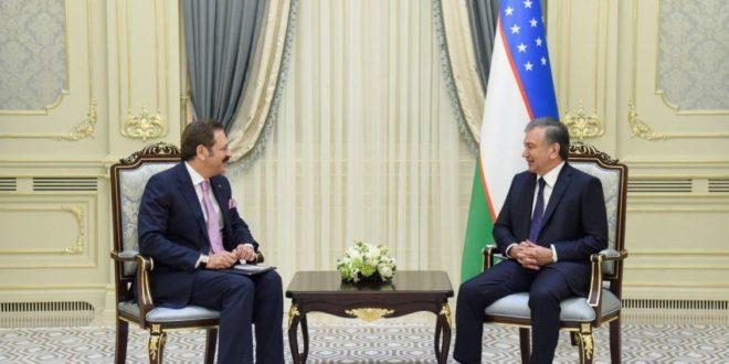 Президент Узбекистана принял председателя Союза торговых палат и товарных бирж Турции