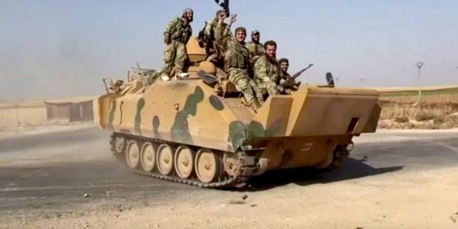 Курдлар ва Дамашк турк армиясига карши бирлашди