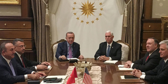 СМИ: США и Турция договорились о прекращении огня в Сирии