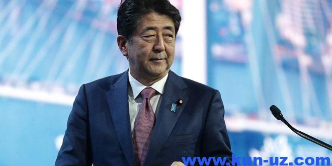 Синдзо Абэ Япония бош вазири лавозимини эгаллаш буйича рекорд урнатди