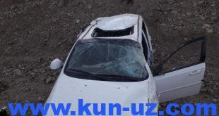 В Ташкенте работник мойки угнал автомобиль в Наманган и попал в ДТП