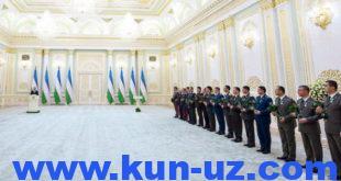 В Узбекистане только генералы могут быть понижены в звании Указом президента