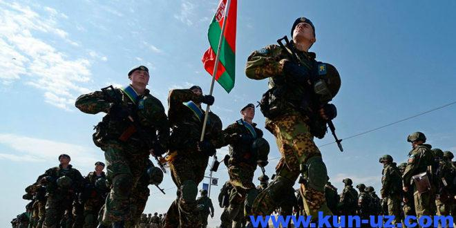 Belarus NATO bilan qushma mashgulotlar utkazish buyicha muzokara boshladi