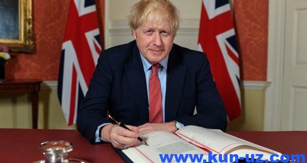 """Boris Jonson """"Brekzit"""" haqidagi qonunni imzoladi"""