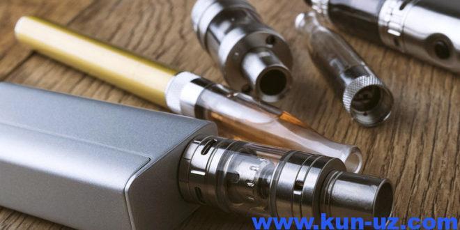 Turkiyaga elektron sigaret va chilimlar olib kirish taqiqlandi