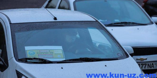 30 martdan Uzbekistonda shakhsiy transportdan foydalanishga cheklov joriy etiladi