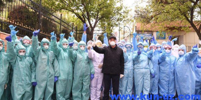 Uzbekistonda koronavirusga chalingan bemorlarning yana 4 nafari tuzaldi