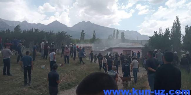 Qirgiziston bilan chegarada mojaro kelib chiqdi. DKhKh vaziyat buyicha akhborot berdi