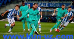 Ла Лига. «Реал» Сан-Себастьянда иродали галаба козониб, етакчига айланди