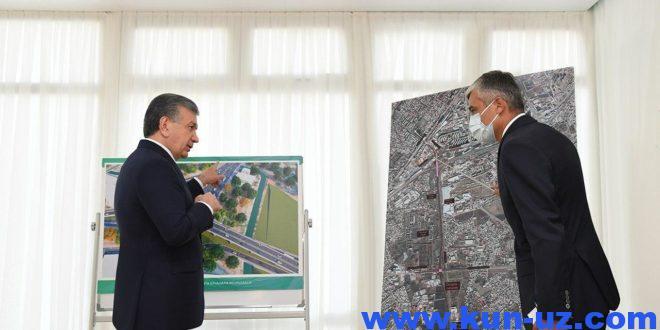 Sergelini Toshkent markazi bilan boglash uchun yangi aylanma yul quriladi