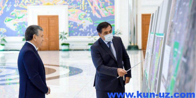 Toshkent shahri va Toshkent viloyati tumanlari hududlari uzgartiriladi