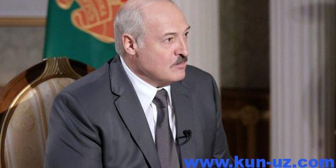 Ельцин, Путин, Крим ва сайловлар хакида – Лукашенко катта интервью берди