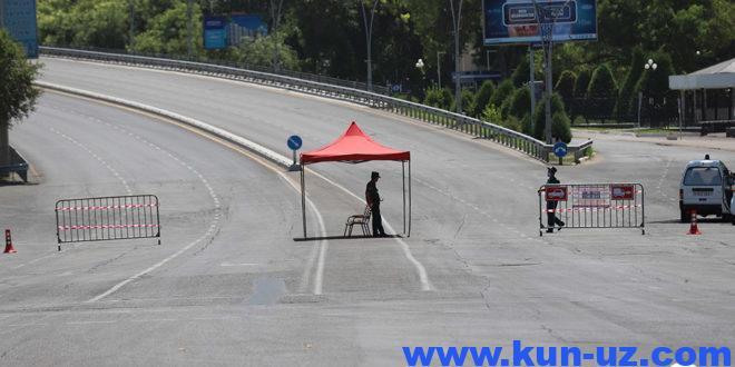 Узбекистонда 8-9 август кунлари кучайтирилган карантин режими амал килади