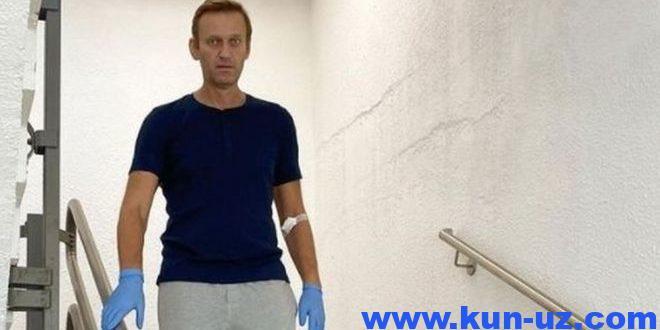 Навальнийга «Шарите»дан жавоб берилди. У касалхонада 32 кун утказди