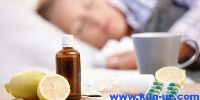 Мавсум бусагасида: грипп ва УРВИдан кандай химояланиш керак?