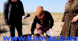 Турмуш ташвишлари билан яшаётган одамлар: пахтакорлар билан бир кун