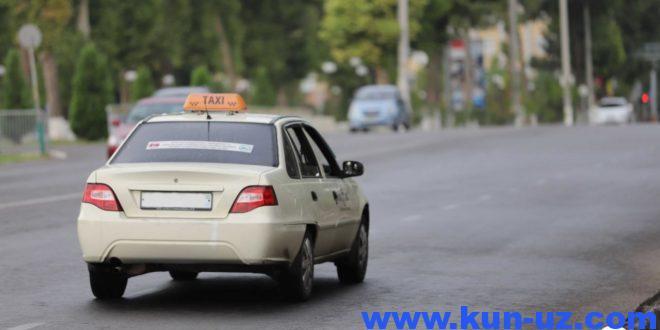 Жисмоний шахсларга такси қилиш ҳуқуқи яна берилмади