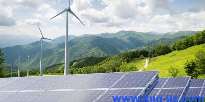 ХМК вице-президенти — Узбекистон иктисодиётини тоза энергияга утказиш хакида