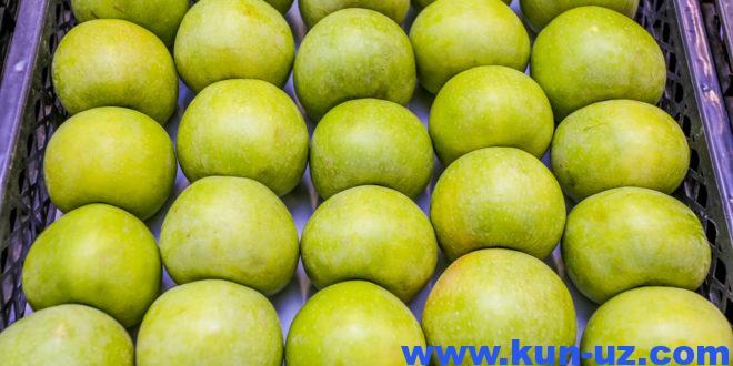 Uzbekiston olma importini 8,5 baravar oshirdi, eksport 61 foizga tushdi